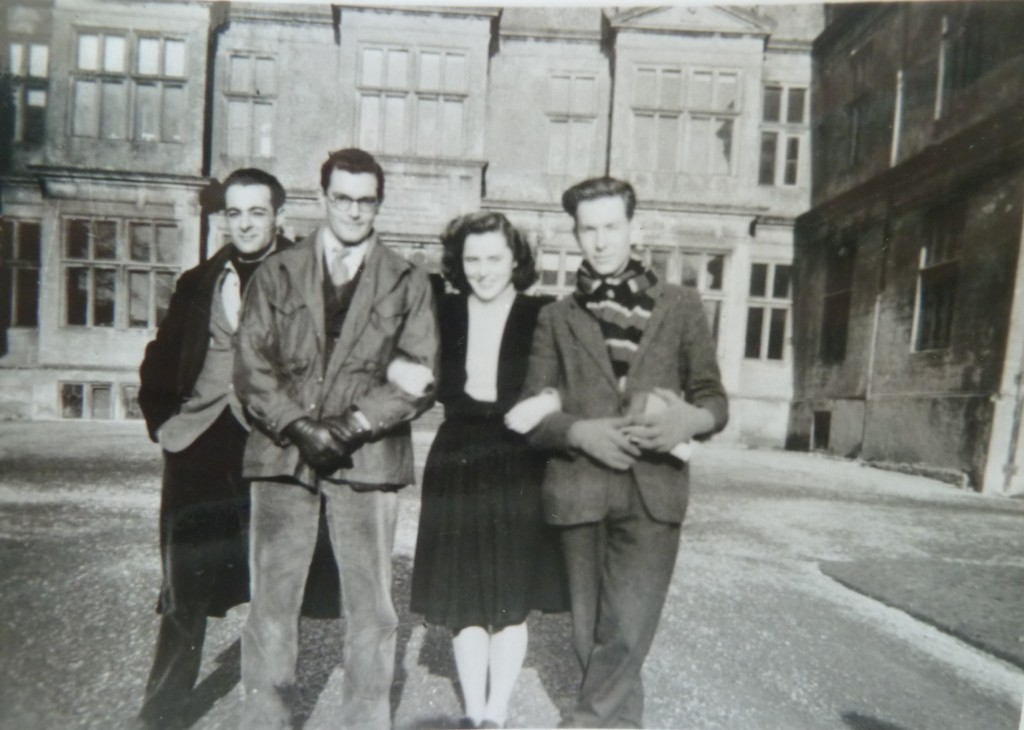 Paul Rudall (second left) at Corsham Court